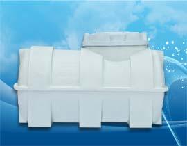 مخزن و منبع افقی 300 لیتری پلی اتیلن و پلاستیکی