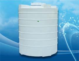 مخزن یا منبع عمودی 2100 لیتری پلی اتیلن یا پلاستیک