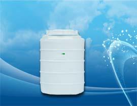 مخزن منبع عمودی یا ایستاده 400 لیتری پلی اتیلن و پلاستیک